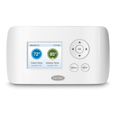 CARRIER® WI-FI® THERMOSTAT | Comfort Solutions Heating and Cooling