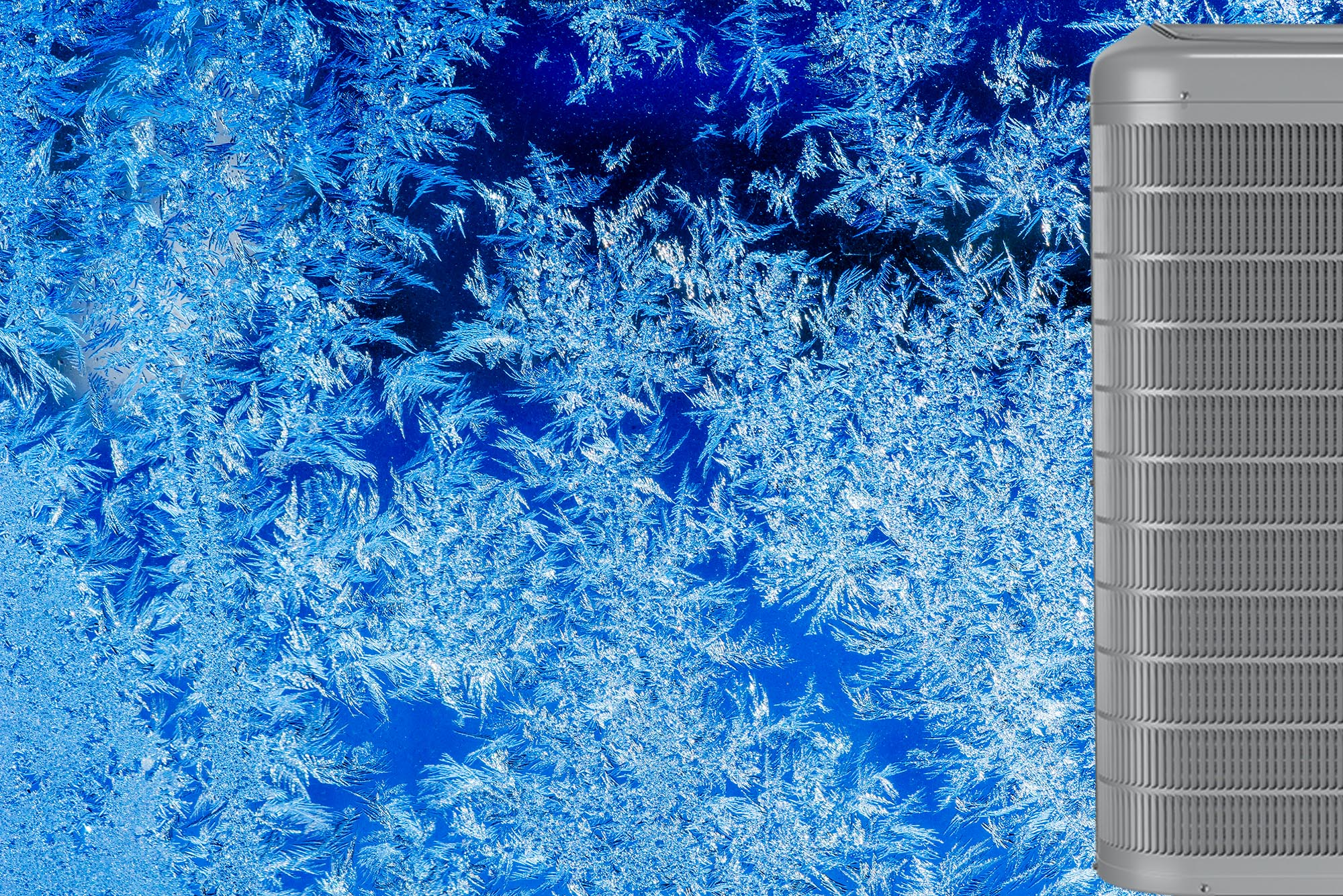 Ice on air conditioner how to fix it
